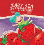 Mary Bea and Strawberries all the way home  By Tamara Hogan